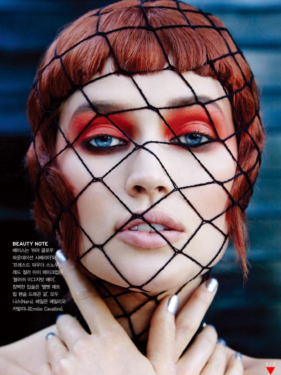 Toni Garrn And Ji Young Kwak By François Nars For Vogue Korea July 2013