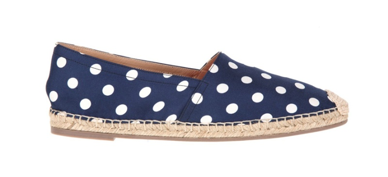 Valentino  Pop-pois printed silk and cord espadrilles, €320