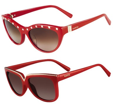 Valentino's sunglasses for the Cash&Rocket Fundraiser Tour 2013