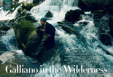 Vanity Fair - John Galliano, in First Interview Since Firing