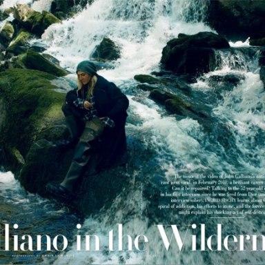 Vanity Fair - John Galliano, in First Interview Since Firing