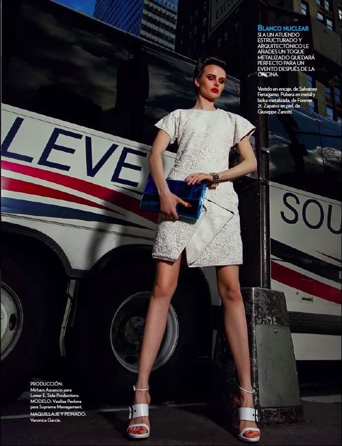 Vasilisa Pavlova by Antia Pagant for Marie Claire Mexico June 2013