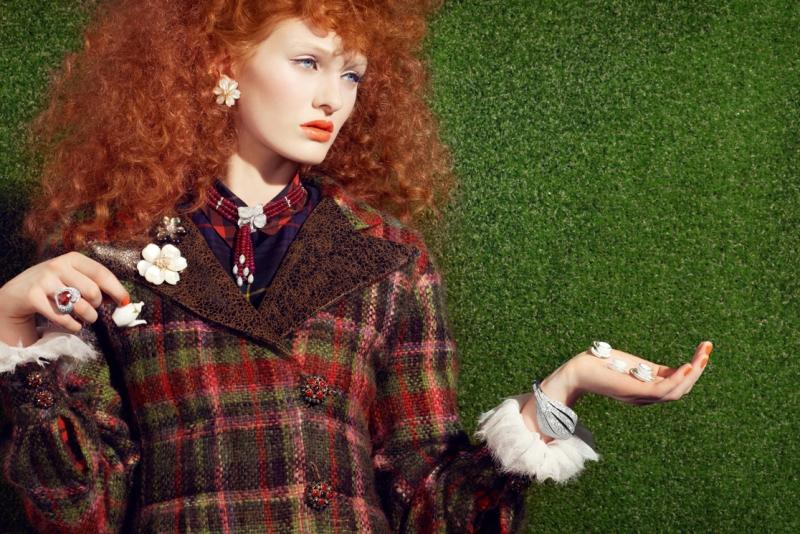 Vogue Gioiello May 2013- Le déjeuner sur l'herbe