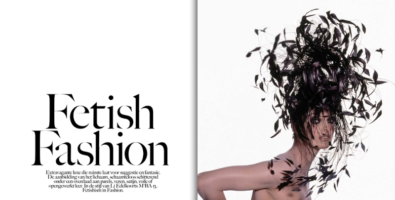 Vogue Netherlands  July 2013 : Fetish Fashion