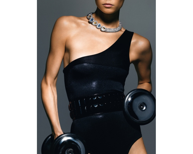 Vogue Paris December:January 2008 by Thomas Lagrange.
