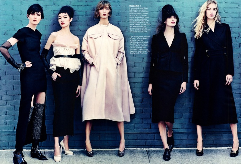 """Identity Politics"" by Craig McDean for Vogue US July 2013"