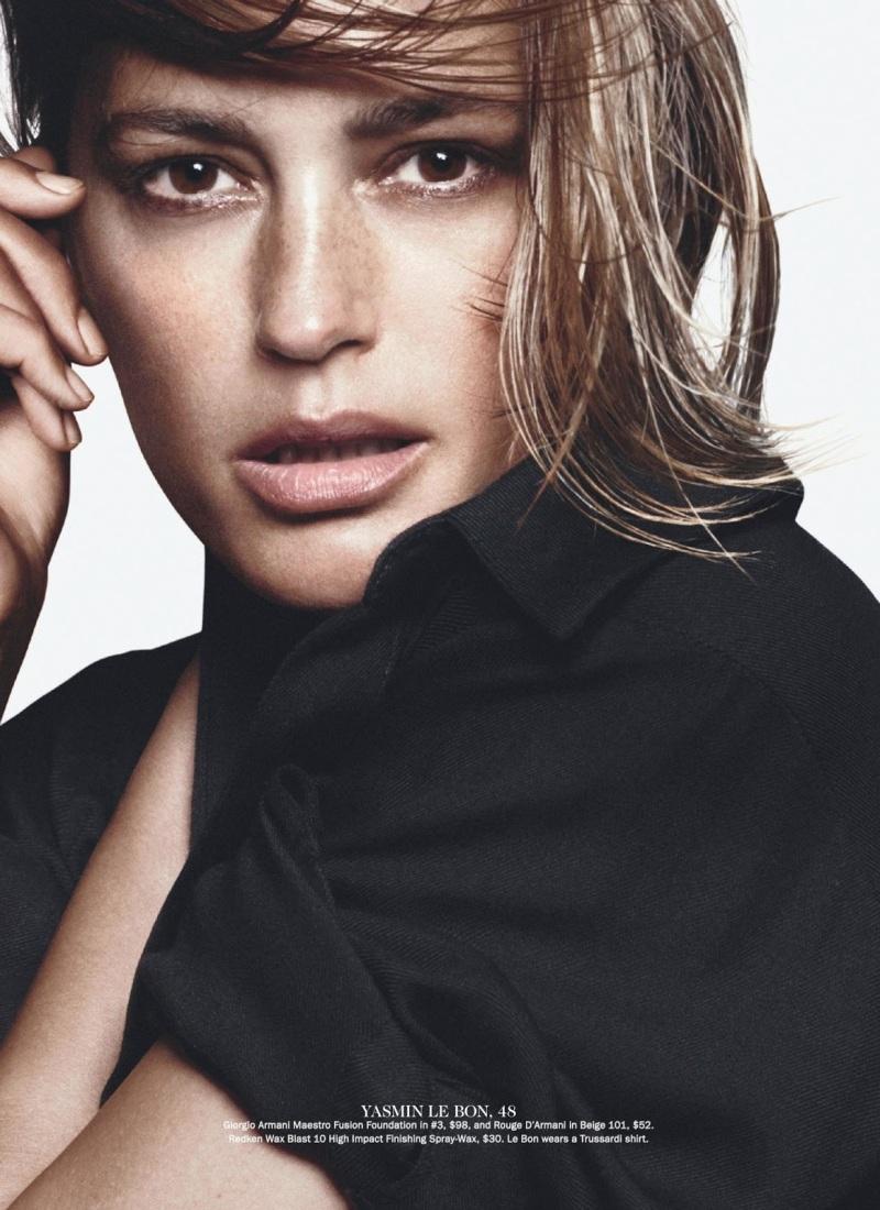 Yasmin Le Bon by David Sims for Vogue Australia July 2013