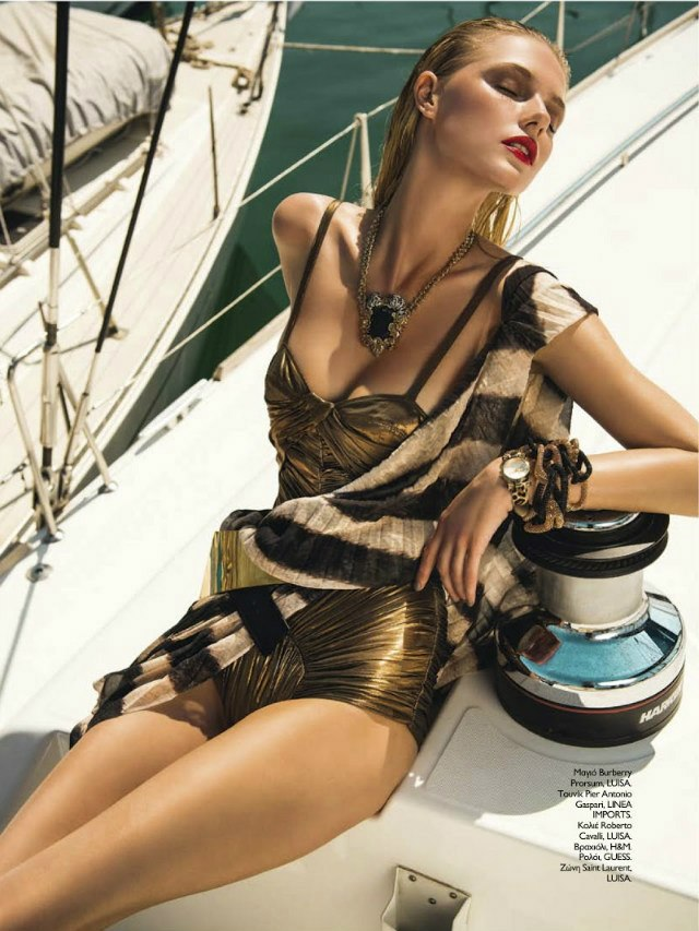 Yulia By Thanassis Krikis For Madame Figaro Greece June 2013