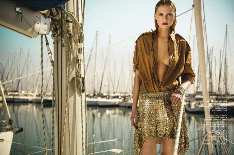 Yulia By Thanassis Krikis For Madame Figaro Greece June 2013