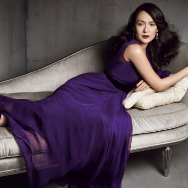 Zhang Ziyi by Patrick Demarchelier for Vogue China July 2013