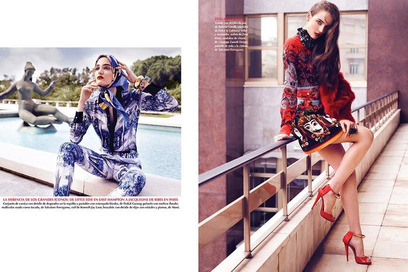 Zuzanna Bijoch by Marcin Tyszka for Vogue Mexico July 2013