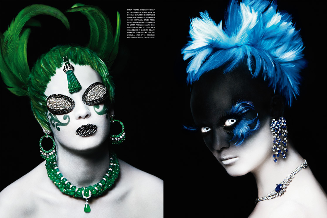 A Precious Make-Up by Francesco Carrozzini for Vogue Gioiello March 2010