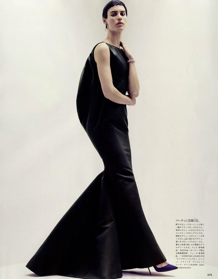 Alana Bunte by Robbie Fimmano for Vogue Japan September 2013