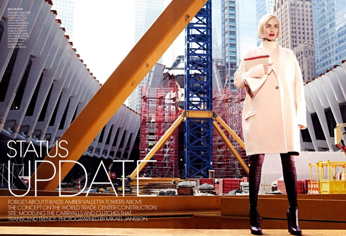 Status Update Amber Valeltta by Mikael Jansson Styled by Camilla Nickerson