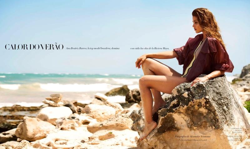 Ana Beatriz Barros By Alexander Neumann For Harper's Bazaar Mexico July 2013