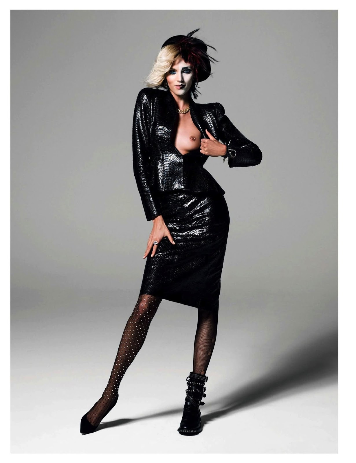 Anja rubik by inez vinoodh new images