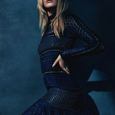Anne Vyalitsyna By Kai Z Feng For ELLE UK August 2013