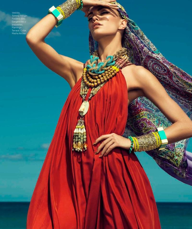Barbara Fialho By Danny Cardozo For Harper's Bazaar Mexico July 2013