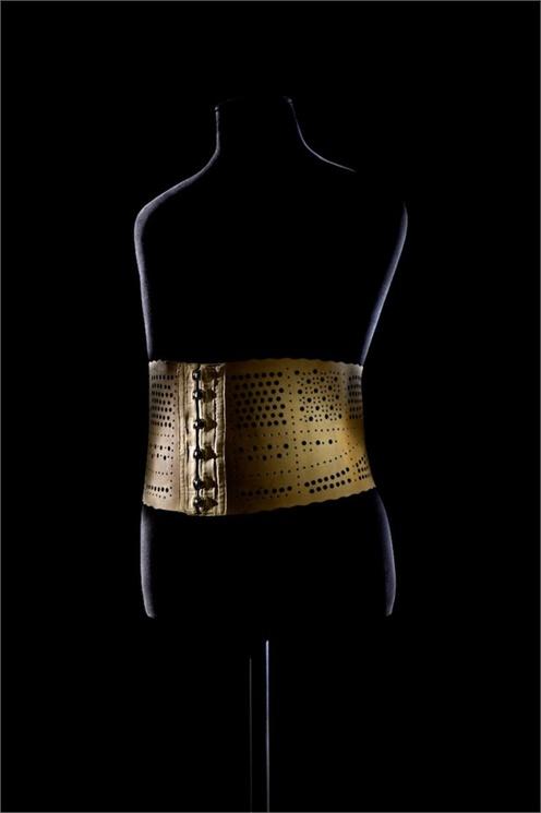 Belt for man 1900 Les Arts Décoratifs © Patricia Canino