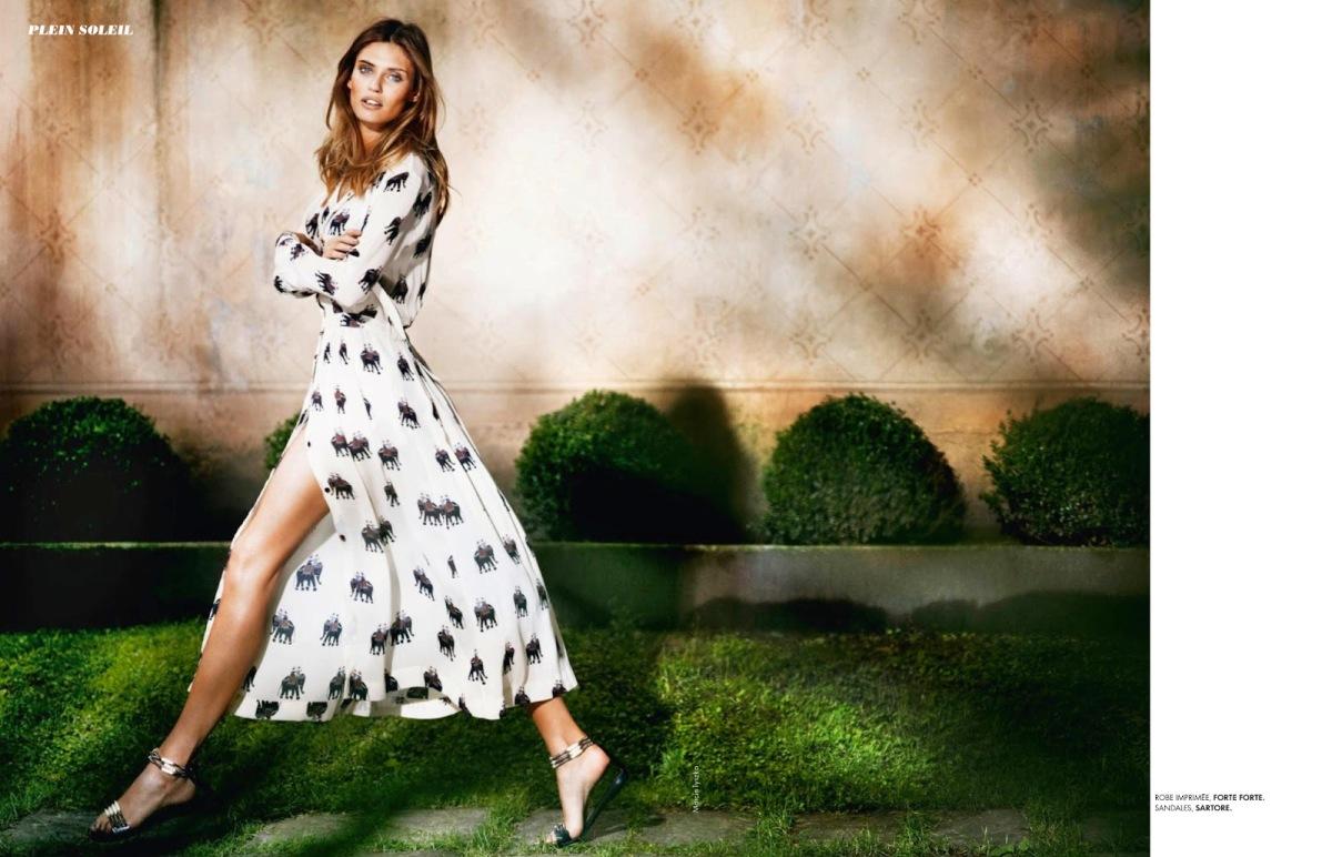 Bianca Balti By Marcin Tyszka For Elle France 5Th July 2013