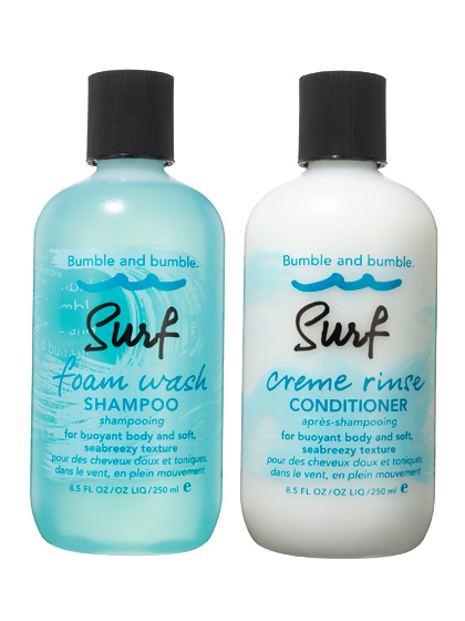 Bumble And Bumble Surf Foam Wash Shampoo &Amp; Surf Creme Rinse Conditioner