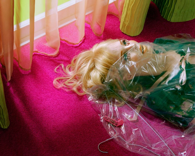 Doll's House #7, 2008 Chromogenic print First published on Vogue Italia, August 2008 © 2013 Miles Aldridge  Photo courtesy of Rizzoli International