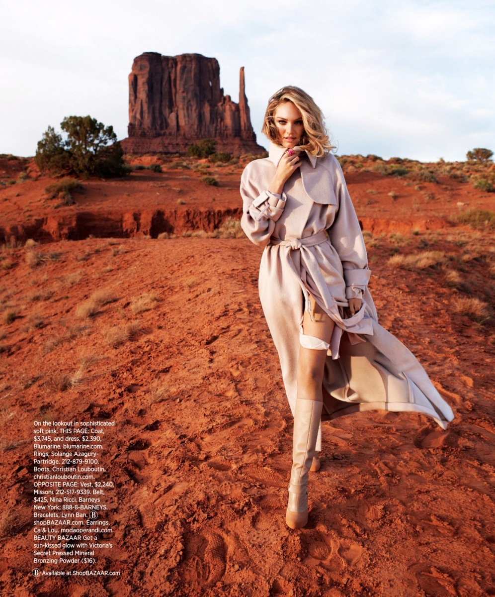 Candice Swanepoel by Terry Richardson for Harper's Bazaar US August 2013