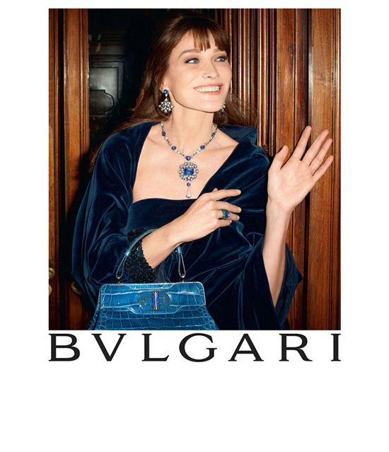 Carla Bruni by Terry Richardson for Diva Collection by Bulgari