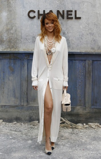 Celebrities at Paris Haute Couture Week Fall 2013