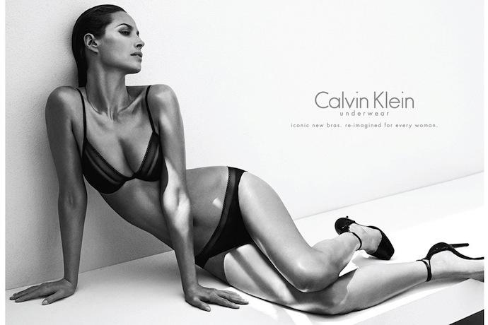 Christy Turlington by Mario Sorrenti for Calvin Klein Underwear Fall 2013