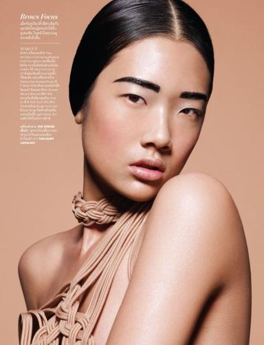 Chutimon 'Aokbab' Jugchareonsukying by Tada Varich for Vogue Thailand July 2013