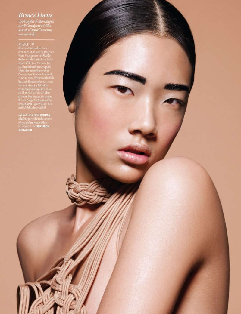 Chutimon 'Aokbab' Jugchareonsukying by Tada Varich for Vogue Thailand July 2013
