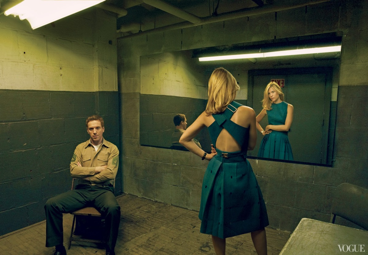 Claire Danes by Annie Leibovitz for Vogue US August 2013