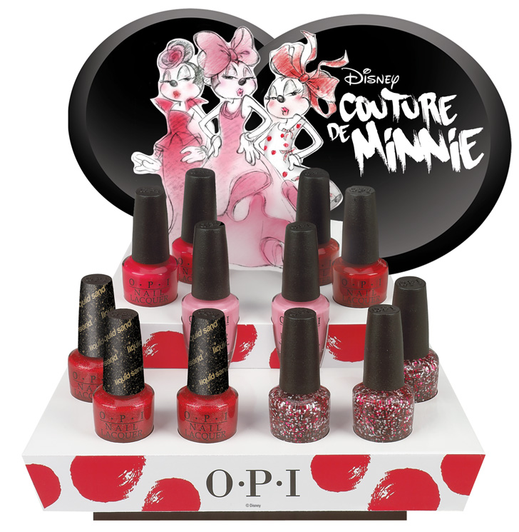 Couture de Minnie Collection by OPI