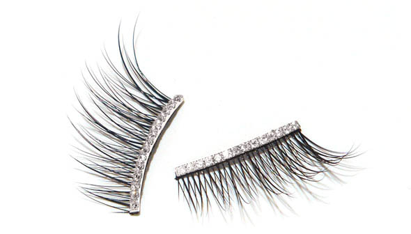 Diamond Half Lashes- 0.2 karats of diamonds hand set on 18K gold