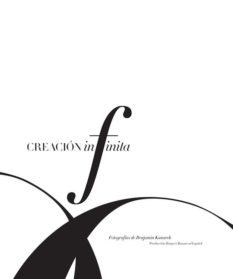 Dovile Virsilaite by Benjamin Kanarek for Harper's Bazaar Latin America July 2013