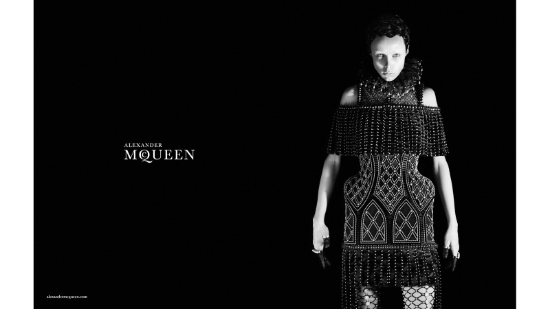 Edie Campbell By David Sims For Alexander Mcqueen F/W 13.14