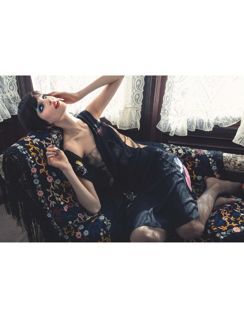 Elisabeth Erm by Sofia & Mauro for Numéro #145 August 2013