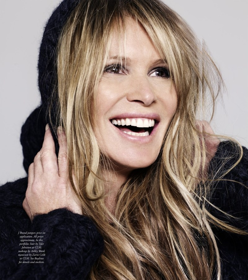 Elle Macpherson by Bryan Adams for Harper's Bazaar Australia August 2013