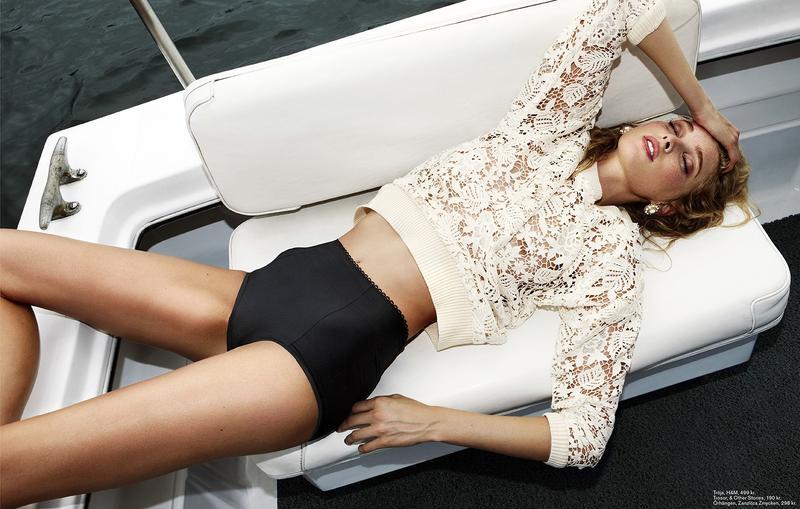 Elsa Hosk by Martin Lidell for Styleby Magazine July 2013