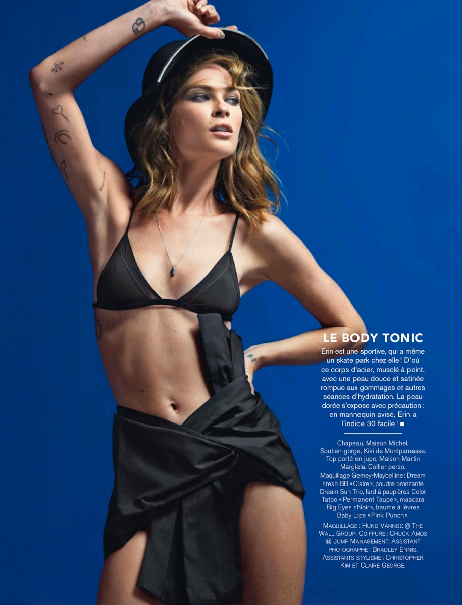 Erin Wasson By Billy Kidd For Glamour France August 2013Erin Wasson By Billy Kidd For Glamour France August 2013
