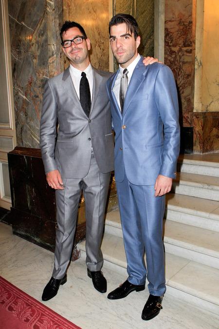 Joe Quinto and Zachary Quinto