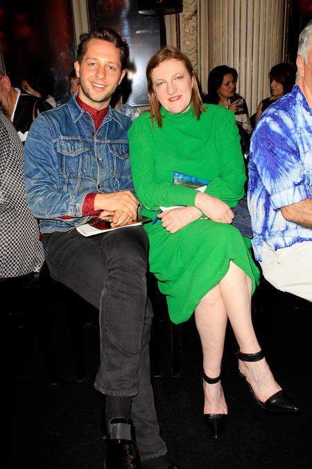 Derek Blasberg and Glenda Bailey