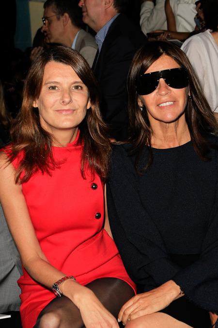 Marie-Amélie Sauvé and Carine Roitfeld