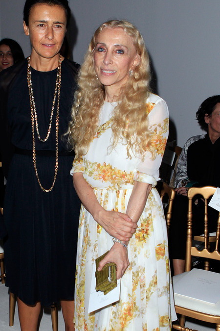 Francesca Ruffini and Franca Sozzani