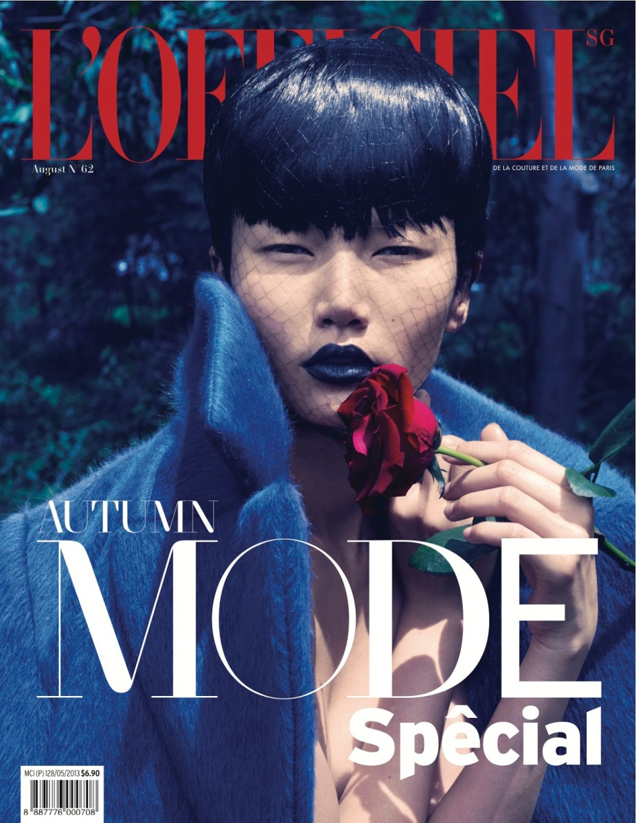 Gwen Lu By Chuando And Frey For L'Officiel Singapore August 2013