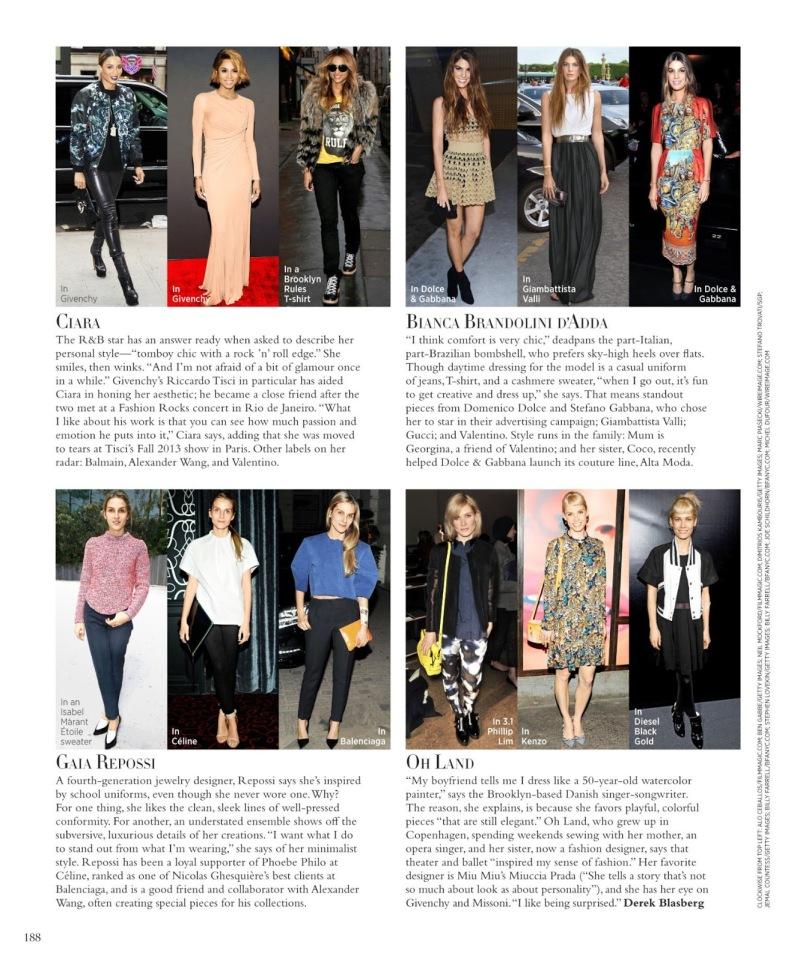 Harper's Bazaar US August 2013 - Personal Style
