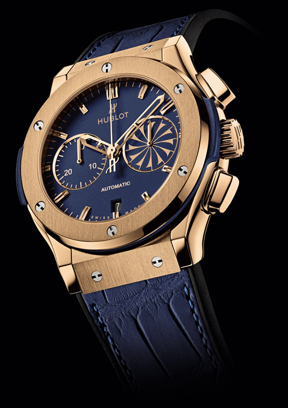 Hublot Mykonos 2013 Classic Fusion Chronograph Watch King Gold