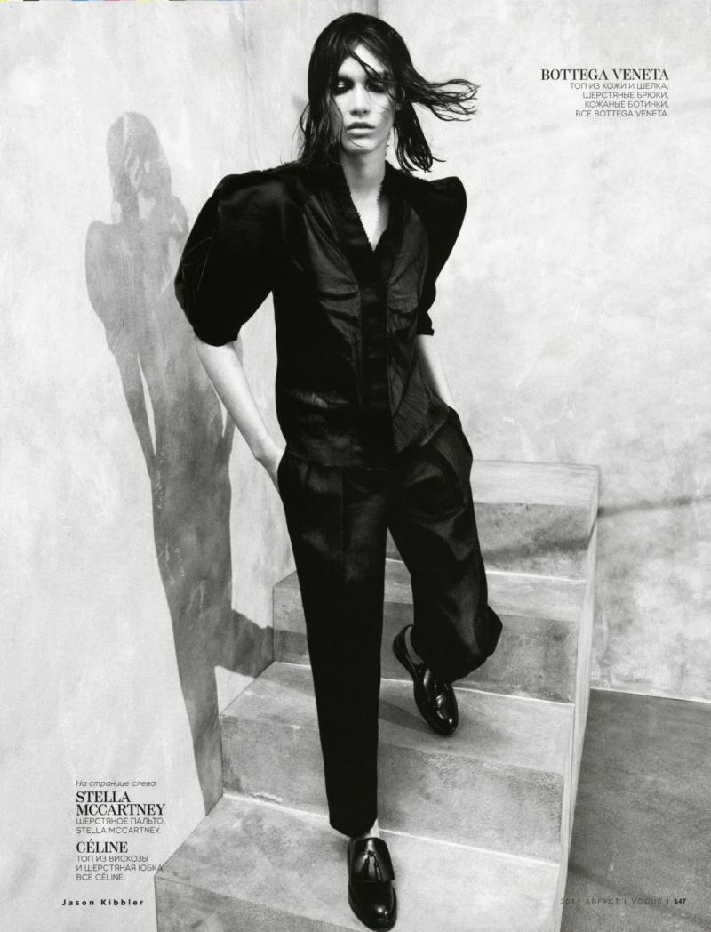 Irina Nikolaeva by Chad Pitman for Vogue Russia August 2013
