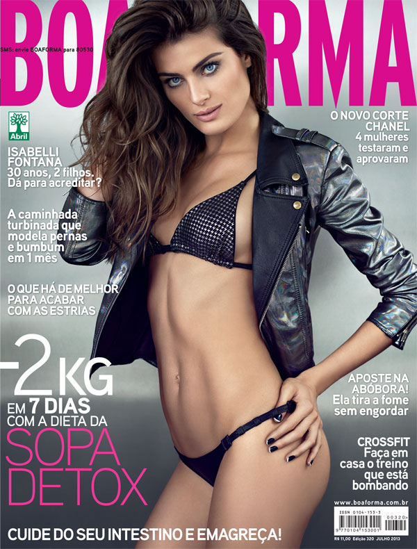 Isabelli Fontana For Boa Forma July 2013